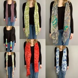 Accessories - BUNDLE OF 7 Assorted Patterned Scarves